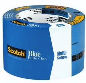 3m scotch 2090 blue 3 72mm x 545m painters tape - Blue Painters Tape